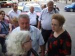 Înaintea plecării spre casă, cu Nicolai Tăicuţu şi Monica Mureşan