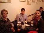 La o şuetă cu Martin Potter şi traducătoarea Adriana Ioana Minculescu Nacu