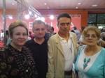 Bookfest 2012, cu Radu Voinescu şi Al. Ecovoiu. Fotografie de L. I. Stoiciu