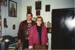 Cu Christian W. Schenk la Rohia, în chilia lui Nicolae, Steinhardt