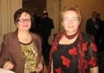 Cu poeta Niculina Oprea la recepţia oferită de ES Ambasadorul Kuweitului la Hotel Marriott, Bucureşti, 2009
