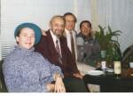 La Biblioteca Universităţii din Timisoara, împreună cu Paul Eugen Banciu, Vasile Bogdan, Nicolae Anghel