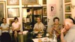 La Casa Minulescu, împreună cu Corneliu Lupeş şi Nicolae Gheran