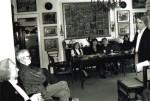La Muzeul Minulescu, cu Ion Horea, Simona Cioculescu şi Corneliu Lupeş
