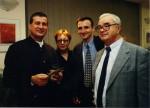 La Timisoara, 1999, cu Ion Miloş, MIrcea Dinescu şi Robert Şerban
