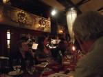 La un restaurant retro, cu Zdravka şi Ruth, Belgrad