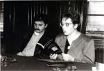 Lansarea unui volum de Gheorghe Mocuţa, Timişoara, Sala cu lambriuri a Filialei USR, 1998
