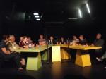 Lectură publică la Dom omladine, Belgrad 2012