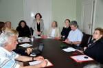 Lucrările de înfiinţare a Reţelei balcanice a PEN-Cluburilor, la sediul PEN-Clubului sârb, Belgrad 2012