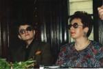 O dubla lansare, la Timişoara, împreună cu Aura Christi, 1998