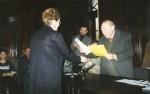 Primind de la Anavi Adam premiul pentru poezie al Filialei Timişoara a USR, 1999