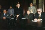 Primind premiul pentru poezie la Filiala Timişoara a USR, 1999