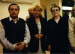 Sărbătoare la Timişoara, 1999, cu Daniel Vighi şi Denisa Comănescu