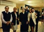 Sărbătoare la Timişoara, cu Denisa Comănescu, Daniel Vighi, Cassian Maria Spiridon, Veronica Bălaj, Robert Şerban