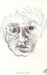 Autoportret terifiat. Tuş