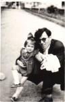 Cu Simona-Grazia Dima, copil mic