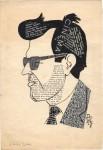Portret de R.D., 1965. Presupun că autorul e Dan Radu Ionescu, regizor.