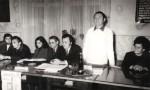 Cu I. Arieşanu, A. Dumbrăveanu, I. Maxim, Adriana Babeţi, L. Cerneţ, D. Petrovici
