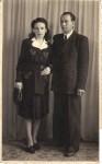 Bunica Emilia cu soţul ei de-al doilea, Remus Telescu, 1943