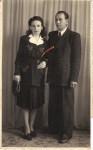 Bunica Emilia cu soţul său Remus Telescu