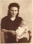 Bunica şi unchiul Remus, naşul meu