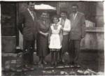 Mama cu tata şi sora ei Angela