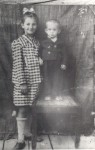 Mama şi fratele ei Remus, naşul meu