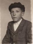 Imagine din 1943, elev la Liceul economic din Arad